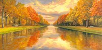 Boulevard sull Acqua Fine-Art Print