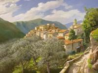 Borgo Degli Ulivi Fine-Art Print