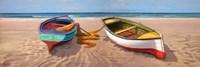 Barche sulla Battigia II Fine-Art Print