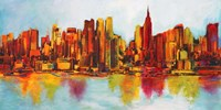 New York Abskyline Fine-Art Print