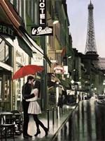 Romance in Paris (Detail) Fine-Art Print