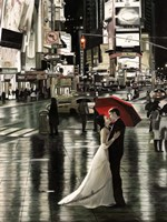Romance in New York (Detail) Fine-Art Print