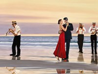 Romance on the Beach (Detail) Fine-Art Print