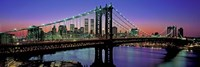 Manhattan Bridge and Skyline Fine-Art Print
