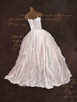 Dressed in White I Fine-Art Print