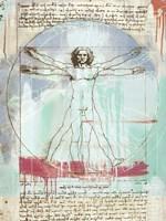 Vitruvian Man 2.0 Fine-Art Print