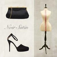 Noir Satin Fine-Art Print