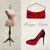 Rouge Matin Fine-Art Print