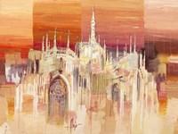 Milano al Tramonto Fine-Art Print