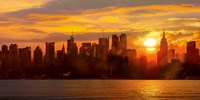 Sunset over Manhattan Fine-Art Print