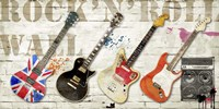 Rock and Roll Wall Fine-Art Print