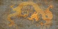 Golden Dragon Fine-Art Print