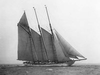 The Schooner Karina at Sail, 1919 Fine-Art Print