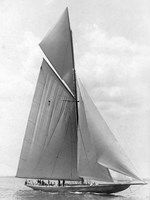 The Vanitie During the America's Cup, 1910 Fine-Art Print