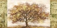 Golden Tree Panel Fine-Art Print