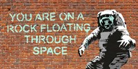 Floating Through Space Fine-Art Print