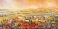 Villaggio delle Colline Fine-Art Print