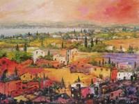 Villaggio delle Praterie Fine-Art Print