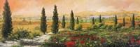 Il Viale dei Cipressi Fine-Art Print