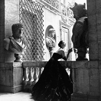 Evening Dress, Roma, 1952 Fine-Art Print