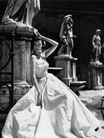 Evening Gown, Colosseo, Roma 1952 (Detail) Fine-Art Print