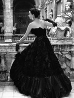 Black Evening Dress, Roma 1952 (Detail) Fine-Art Print