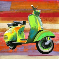 Pop Scooter I Fine-Art Print