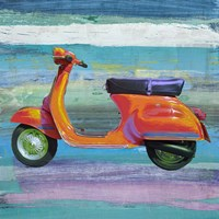 Pop Scooter II Fine-Art Print