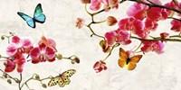 Orchids & Butterflies Fine-Art Print