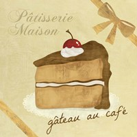 Gateau au Cafe Fine-Art Print