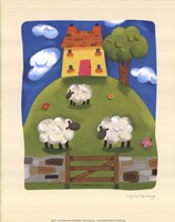 Yellow Farmhouse Fine-Art Print