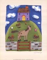 Purple Farmhouse Fine-Art Print