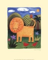 Leo the Lion Fine-Art Print