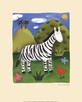 Zara the Zebra Fine-Art Print