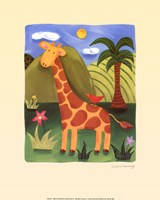 Gerry the Giraffe Fine-Art Print