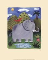 Nellie the Elephant Fine-Art Print