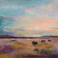Buffalo Under Big Sky Fine-Art Print