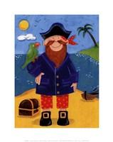 Treasure Island III Fine-Art Print