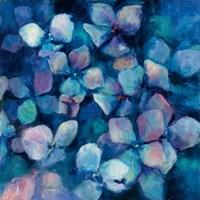 Midnight Blue Hydrangeas Fine-Art Print