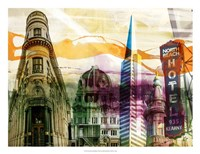 San Francisco Buildings II Fine-Art Print