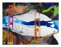 San Francisco Bridge Abstract I Fine-Art Print