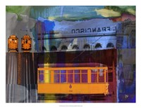 San Francisco Trolley Car Fine-Art Print