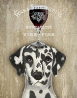 Dog Au Vin Dalmatian Fine-Art Print