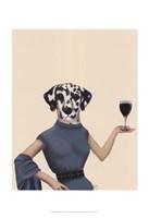 Dalmatian Wine Snob Fine-Art Print