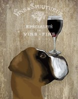 Dog Au Vin Boxer Fine-Art Print