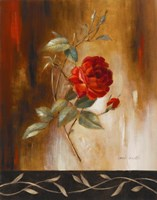 Crimson Rose I Fine-Art Print