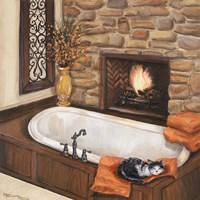Fireplace Escape I Fine-Art Print
