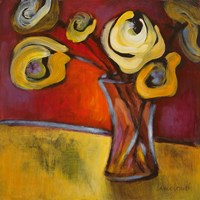 Yellow Poppies in a Vase Fine-Art Print