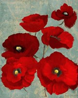 Kindle's Poppies II Fine-Art Print