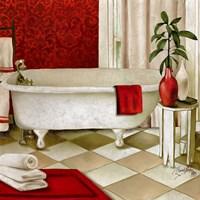 Red Bain I Fine-Art Print